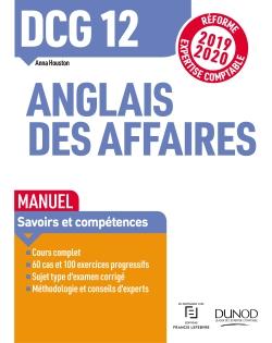 Livre Dunod Dcg 12 Anglais Des Affaires Manuel Reforme Expertise Comptable 2019 2020